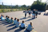 Year 3/4 acting the story of Noah
