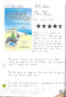 Year 3-4 Book Review